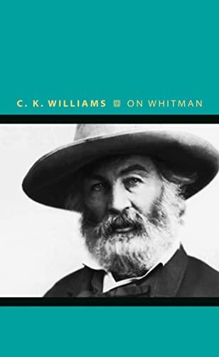 9780691176109: On Whitman (Writers on Writers)