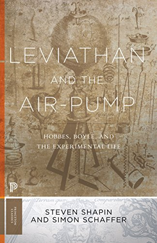 9780691178165: Leviathan and the Air-Pump: Hobbes, Boyle, and the Experimental Life (Princeton Classics)