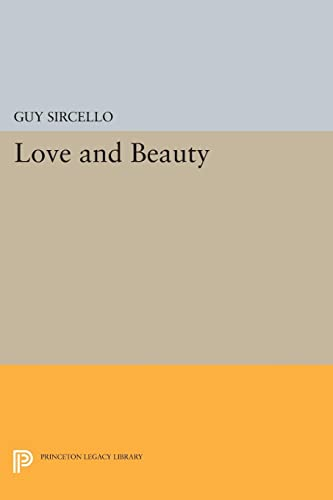 9780691603452: Love and Beauty