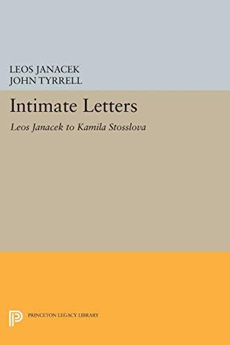 9780691608464: Intimate Letters: Leos Janáček to Kamila Stösslová (Princeton Legacy Library)