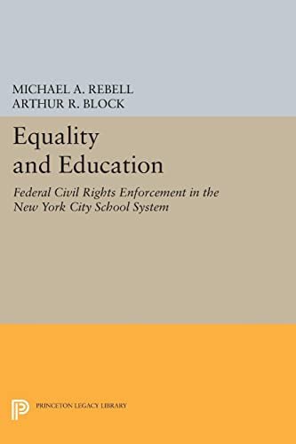 Equality & Education – Federal Civil Rights in Enforcement in the New York City School System: ...