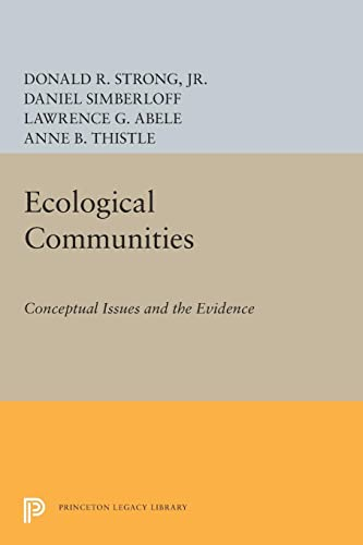 9780691612591: Ecological Communities: Conceptual Issues and the Evidence (Princeton Legacy Library)