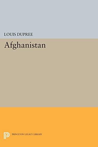 9780691616094: Afghanistan (Princeton Legacy Library)