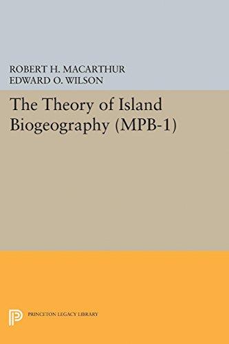 9780691623085: Theory of Island Biogeography. (MPB-1) (Monographs in Population Biology)