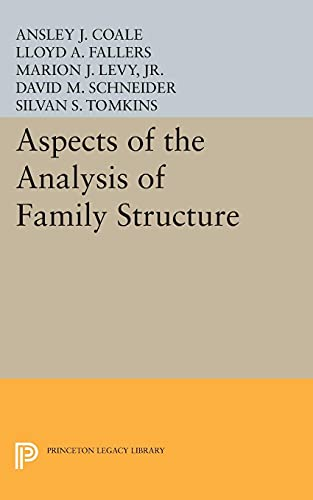 Aspects of the Analysis of Family Structure: Ansley Johnson Coale