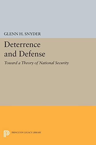 9780691625683: Deterrence and Defense (Princeton Legacy Library)