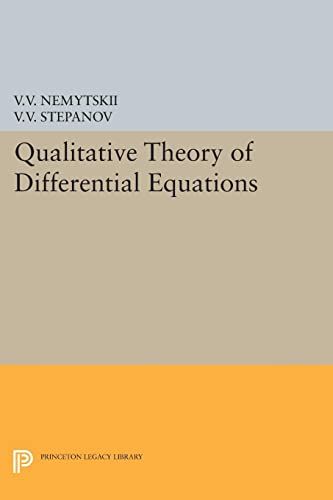 9780691625942: Qualitative Theory of Differential Equations (Princeton Legacy Library)