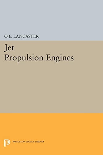 9780691626314: Jet Propulsion Engines