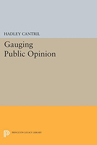 9780691627694: Gauging Public Opinion (Princeton Legacy Library)