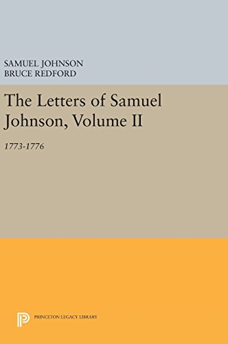9780691631349: The Letters of Samuel Johnson, Volume II: 1773-1776 (Princeton Legacy Library)