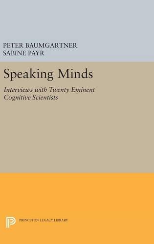 9780691632605: Speaking Minds: Interviews with Twenty Eminent Cognitive Scientists (Princeton Legacy Library)