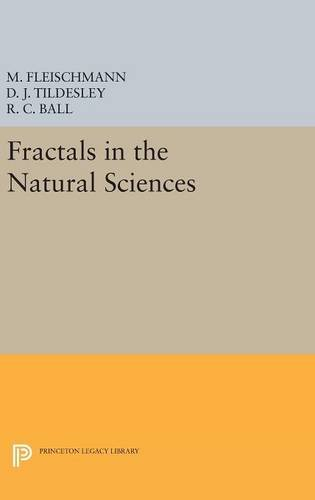 9780691634449: Fractals in the Natural Sciences (Princeton Legacy Library)