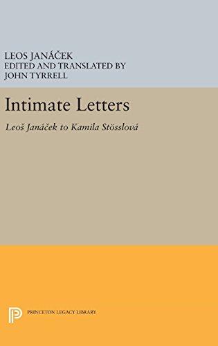 9780691636924: Intimate Letters: Leos Janá?ek to Kamila Stösslová (Princeton Legacy Library)