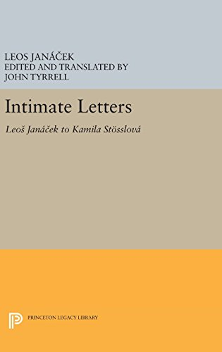 9780691636924: Intimate Letters: Leos Janáček to Kamila Stösslová (Princeton Legacy Library)