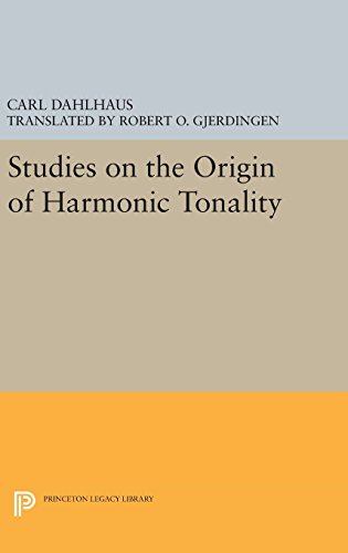 9780691637044: Studies on the Origin of Harmonic Tonality