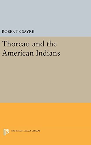 9780691638072: Thoreau and the American Indians (Princeton Legacy Library)