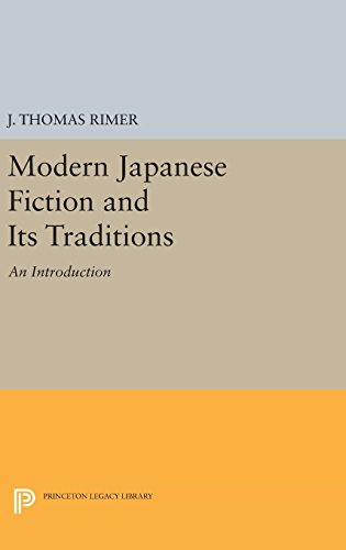 9780691638089: Modern Japanese Fiction and Its Traditions: An Introduction (Princeton Legacy Library)