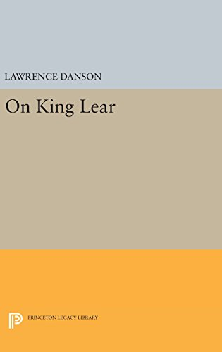 9780691638096: On King Lear