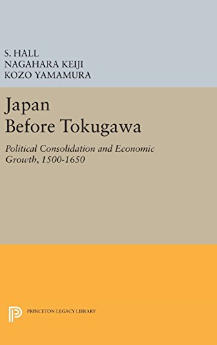 9780691638102: Japan Before Tokugawa: Political Consolidation and Economic Growth, 1500-1650 (Princeton Legacy Library)