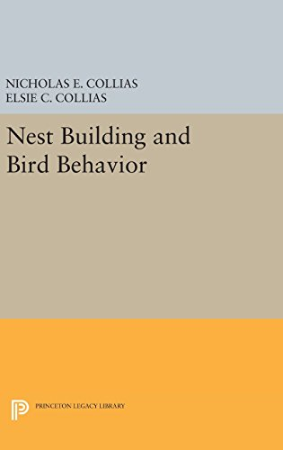 9780691640228: Nest Building and Bird Behavior (Princeton Legacy Library)