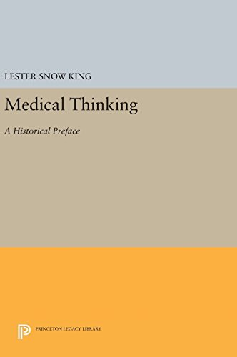 9780691640525: Medical Thinking: A Historical Preface (Princeton Legacy Library)