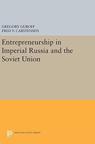 9780691641386: Entrepreneurship in Imperial Russia and the Soviet Union (Princeton Legacy Library)