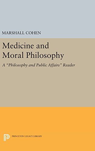9780691641652: Medicine and Moral Philosophy: A