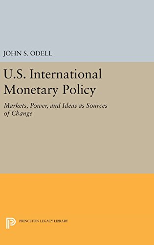9780691641676: U.S. International Monetary Policy: Markets, Power, and Ideas as Sources of Change (Princeton Legacy Library)