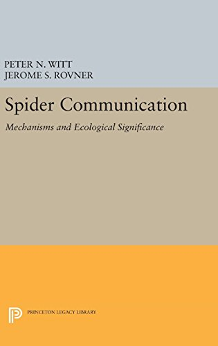 9780691642154: Spider Communication: Mechanisms and Ecological Significance (Princeton Legacy Library)