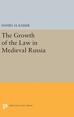 9780691642857: The Growth of the Law in Medieval Russia (Princeton Legacy Library)