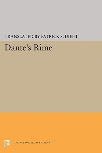 9780691642970: Dante's Rime (Lockert Library of Poetry in Translation)