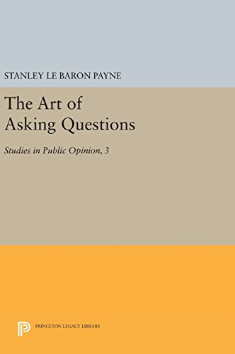 9780691643069: The Art of Asking Questions: Studies in Public Opinion, 3 (Princeton Legacy Library)
