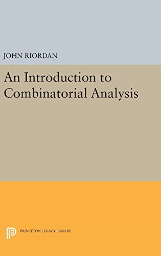 9780691643250: An Introduction to Combinatorial Analysis (Princeton Legacy Library)