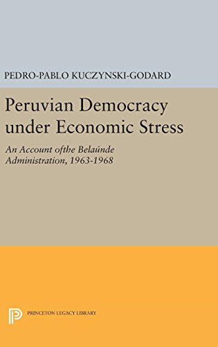9780691643816: Peruvian Democracy under Economic Stress: An Account ofthe Belaúnde Administration, 1963-1968 (Princeton Legacy Library)
