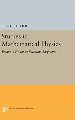 9780691644264: Studies in Mathematical Physics: Essays in Honor of Valentine Bargmann (Princeton Series in Physics)