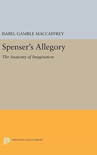 9780691644288: Spenser's Allegory: The Anatomy of Imagination (Princeton Legacy Library)