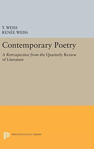 9780691644554: Contemporary Poetry: A Retrospective from the
