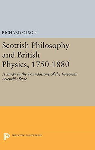 9780691645025: Scottish Philosophy and British Physics, 1740-1870: A Study in the Foundations of the Victorian Scientific Style (Princeton Legacy Library)