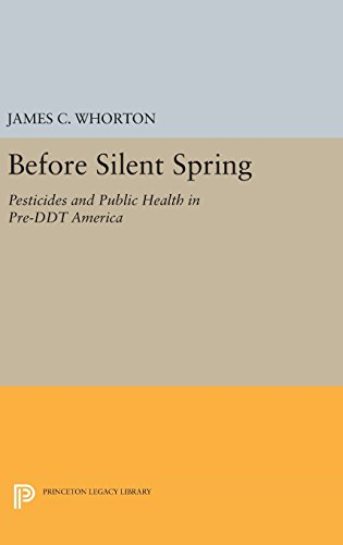 9780691645308: Before Silent Spring: Pesticides and Public Health in Pre-DDT America (Princeton Legacy Library)