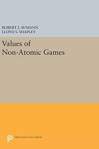 9780691645469: Values of Non-Atomic Games (Princeton Legacy Library)