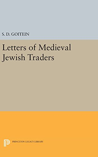 9780691645759: Letters of Medieval Jewish Traders