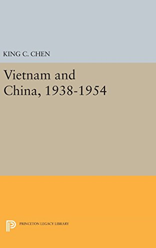 9780691648392: Vietnam and China 1938-1954