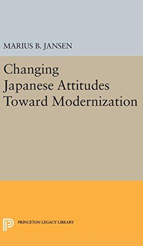 9780691648767: Changing Japanese Attitudes Toward Modernization (Studies in the Modernization of Japan)