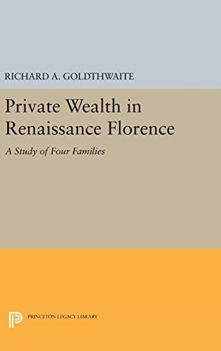 9780691649009: Private Wealth in Renaissance Florence (Princeton Legacy Library)