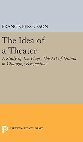 9780691649108: The Idea of a Theater: A Study of Ten Plays, The Art of Drama in Changing Perspective (Princeton Legacy Library)
