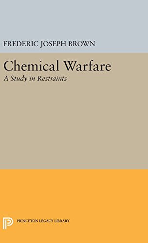 9780691649153: Chemical Warfare: A Study in Restraints (Princeton Legacy Library)