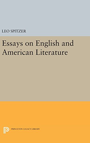 9780691649399: Essays on English and American Literature (Princeton Legacy Library)