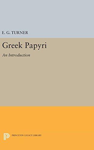 9780691649559: Greek Papyri: An Introduction (Princeton Legacy Library)