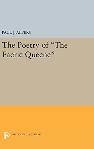9780691649597: Poetry of the Faerie Queene (Princeton Legacy Library)