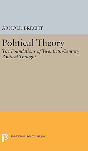 9780691649610: Political Theory: The Foundations of Twentieth-Century Political Thought (Princeton Legacy Library)